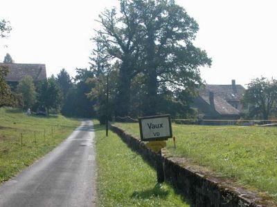 La commune de Vaux-sur-Morges.