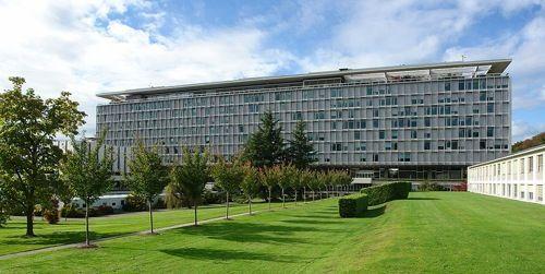 Le siège de l'OMS, à Genève.