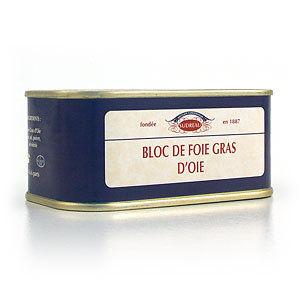 France. Le foie gras traditionnel. 40% de graisse.