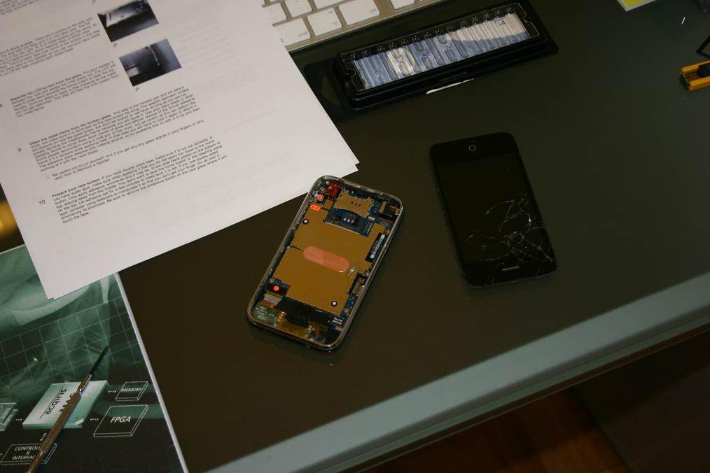 séparer écran en deux surface