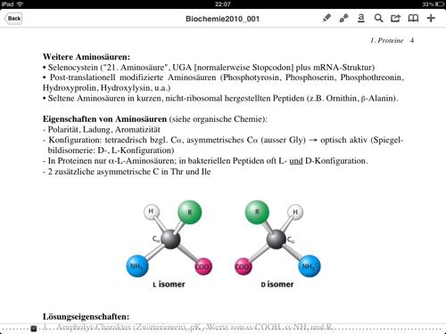 Un document en cours de lecture dans PDF Expert.