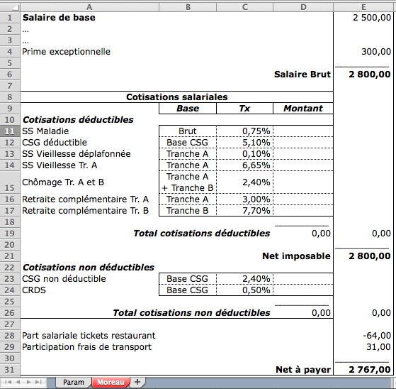 bulletin de salaire suisse