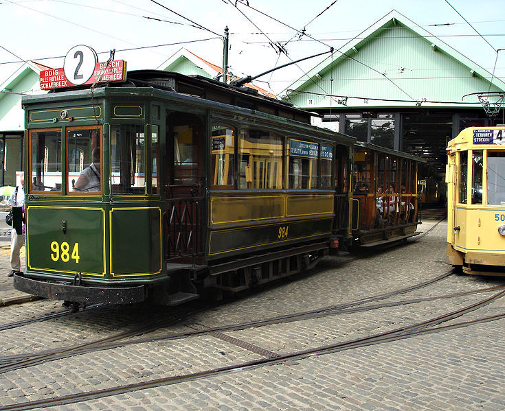 """Résultat de recherche d'images pour """"tram bruxellois de la « Belle Époque »"""""""