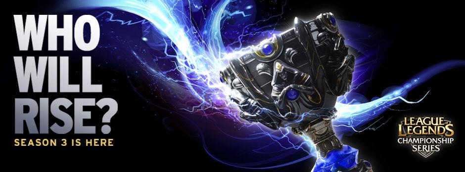 Bannière de promotion du jeu League of Legends