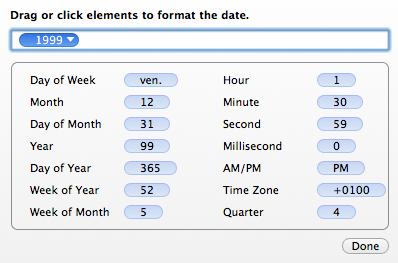 hazel date patterns
