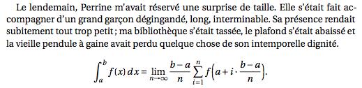 Échantillon Fourier