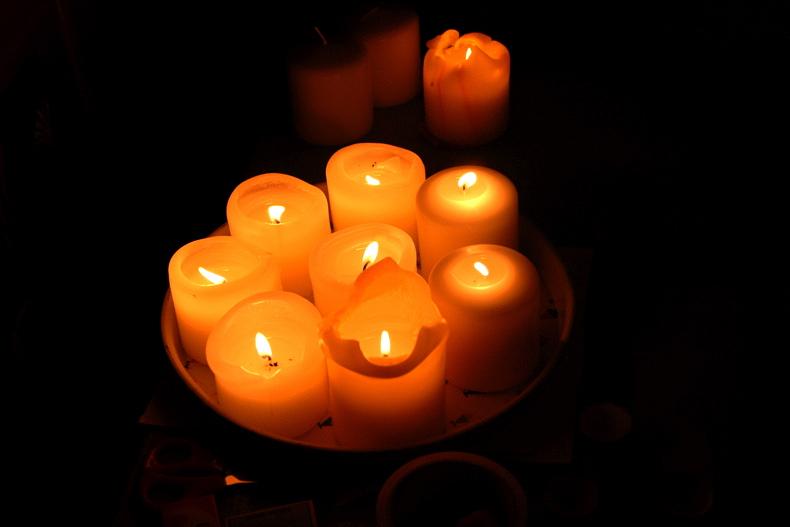 dans fond ecran bougie bougies