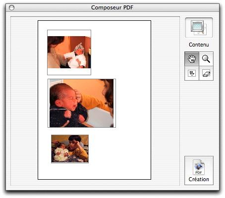 exporter une page de pdf