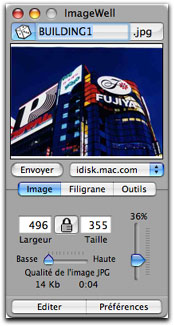 interface de imagewell