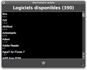 Logiciels disponibles