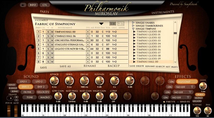 morceaux universal soundbank