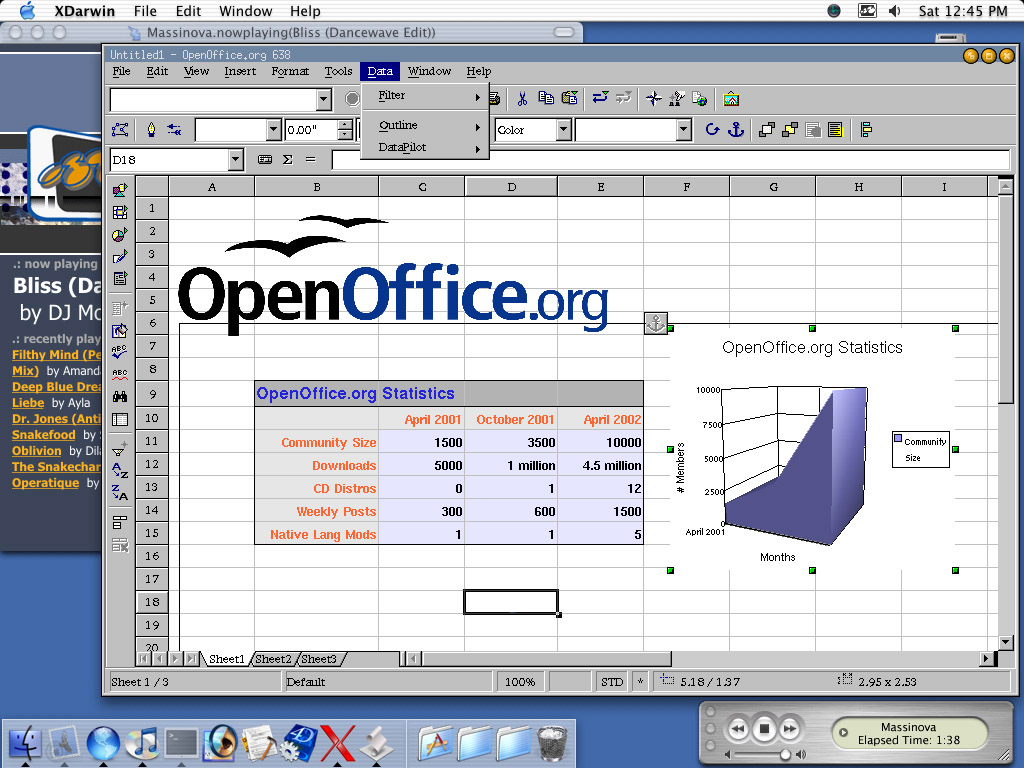 Une alternative ms office - Open office excel gratuit ...