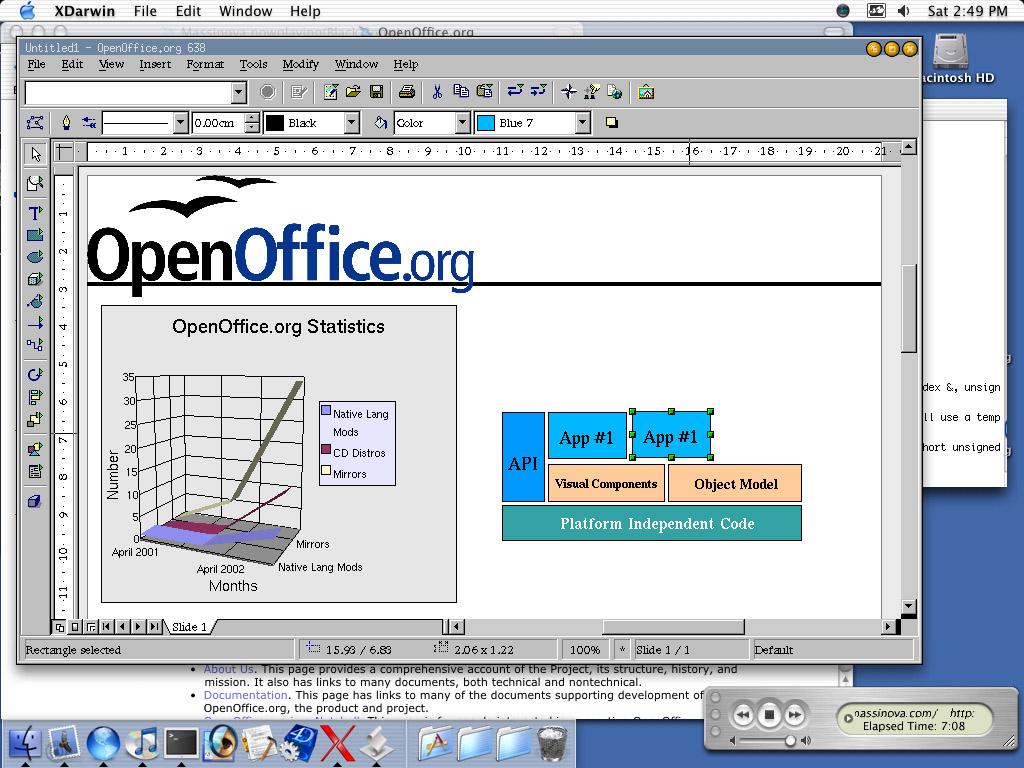 Une alternative ms office - Open office derniere version ...